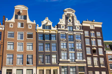 View of the houses in Amsterdam Editoriali