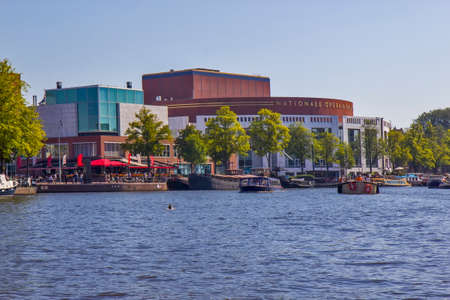 National opera and ballet house in Amsterdam