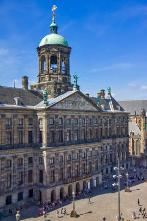 Dam square in Amsterdam Editoriali