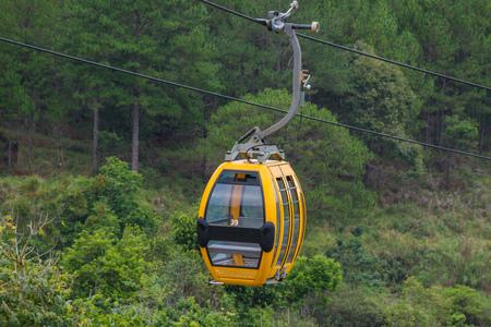 dalat: Dalat Cable Car way at Robin Hill, Vietnam