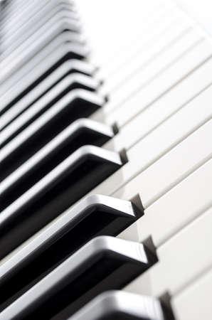 piano keys: Electronic piano keyboard keys