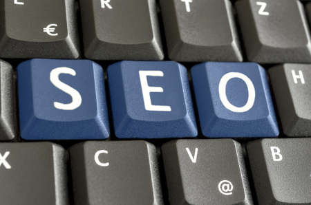 abbreviation: Abbreviation SEO written with blue keyboard buttons