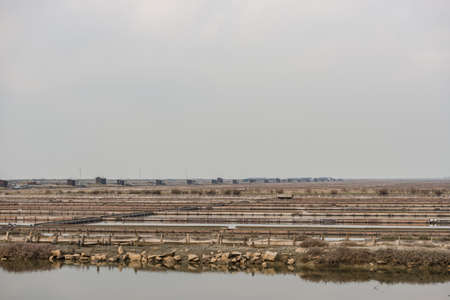 Secovlje Salt Pans natural and culture heritage in Slovenia.