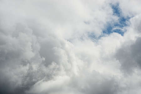 Cloudscape of beautiful white clouds Stock Photo