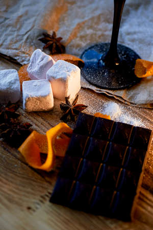 Marshmallow. Air, clouds, springs and just baby Goodies are so nice to throw in the cocoa sitting in the country around the campfire. Feel this atmosphere And emanates warmth.
