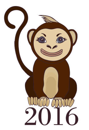 abstract gorilla: monkey