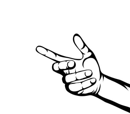 alms: A womans hand holds something invisible. Empty place for your ad or product or object. Simply insert into the palm of your hand. Vector illustration isolated on white background