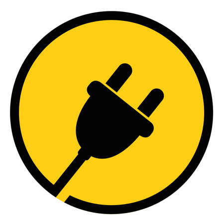 Plug Icon. Isolated Vector. Illustration