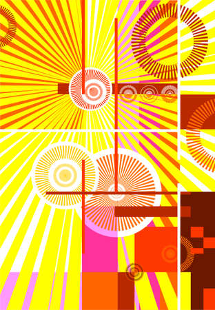 abstract design background, avant-garde illustration illustration