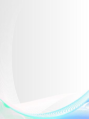 lineas verticales: resumen de antecedentes, estilizada olas, el lugar para el texto Vectores
