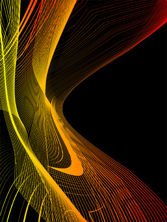 abstract texture, chaos waves actions, place for text Vector