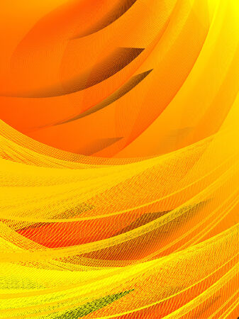 abstract background, stylized waves, place for text Stock Vector - 2646114