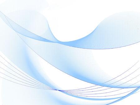 mooie achtergrond: aardige achtergrond, halftoon golven, plaatsen voor tekst  Stock Illustratie