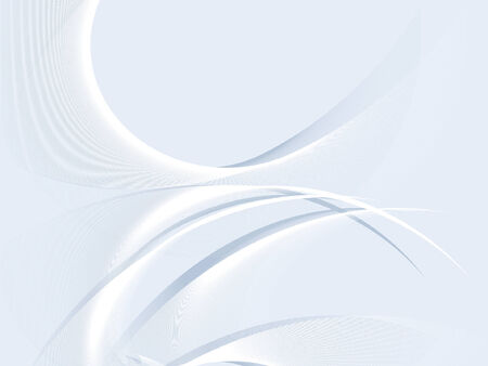 abstract background, stylized waves, place for text Stock Vector - 2665605