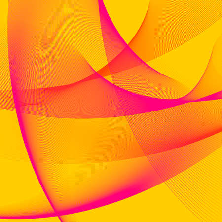 abstract background, stylized waves, place for text Stock Vector - 2672066