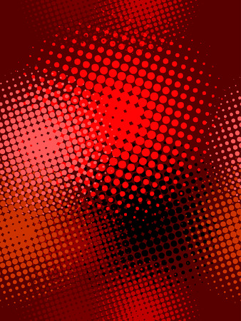 banner effect: seamless pattern, vector halftone effect, illusion of  the gradient