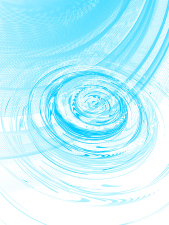 ripple: ripple on the water, vector without gradient