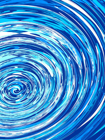 ripple on the water, vector without gradient Vector