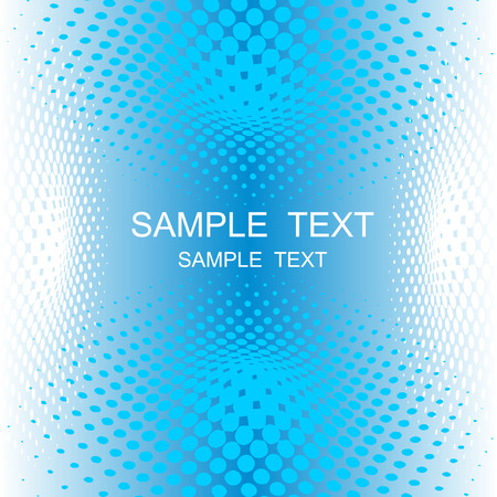 vector halftone effect, illusion of the gradient, place  for text