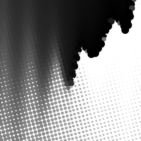 abstract  background, vector halftone effect, illusion of the gradient, place for text Stock Vector - 3122530