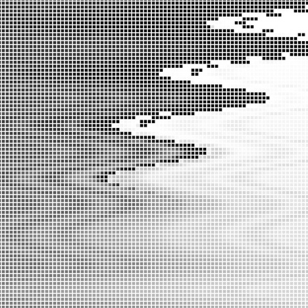 abstract  background, vector halftone effect, illusion of the gradient, place for text Stock Vector - 3148616