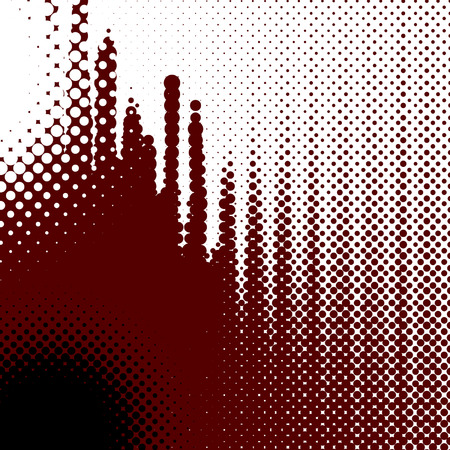 abstract background, vector halftone effect, illusion of the gradient, place for text