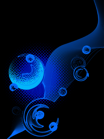 abstract background, vector Stock Vector - 3674078