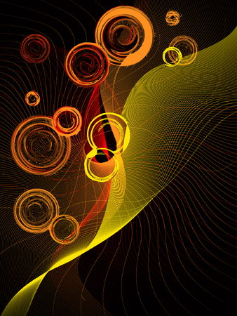 abstract background, vector Stock Vector - 3674077
