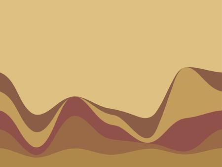distort: resumen de antecedentes, vector, estilizada olas, el lugar para el texto Vectores