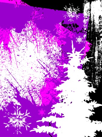 abstract christmas background, vector   Vector