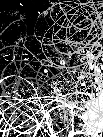 vector background, hand drawn grunge design elements Stock Vector - 3999945