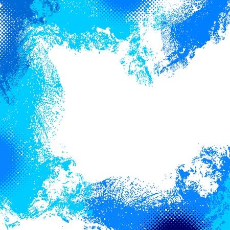 beroerte: abstracte grunge achtergrond, vector