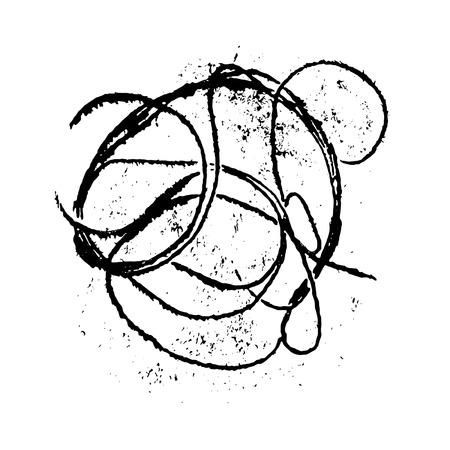 vector background, hand drawn grunge design element Stock Vector - 4368407