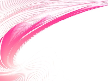 fractal pink: abstract background, vector, stylized waves, place for text