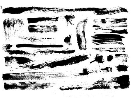 """brush: efecto art�stico """"pincel seco"""", el vector"""