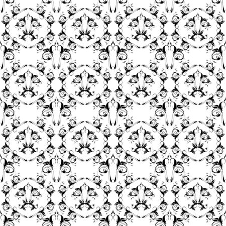 Seamless pattern, vector, floral ornament Vector