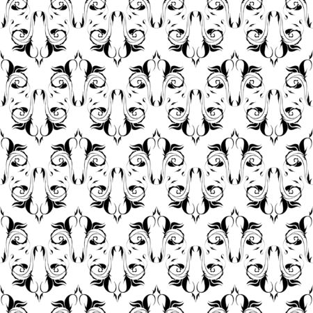 Seamless pattern, vector, floral ornament Stock Vector - 5130873
