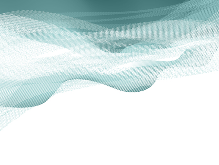 blends: waves  background, vector without gradient, only blends