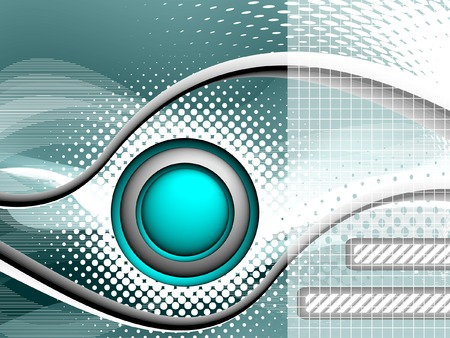 technology  background, vector without gradient, only blends Stock Illustratie