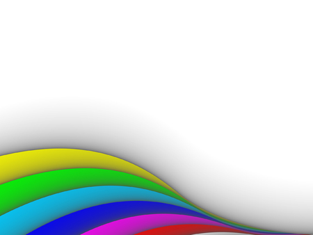lines vector: colorful 3ds lines, vector background with copy-space Illustration