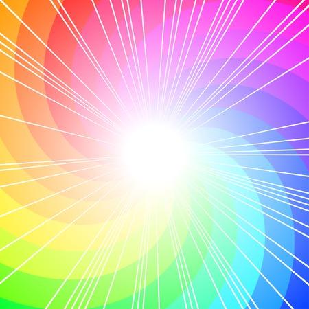 Colorful curl, vector background con copia-spazio Archivio Fotografico - 5520634
