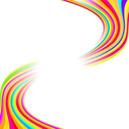 flow of colors: colorful way, vector abstract background