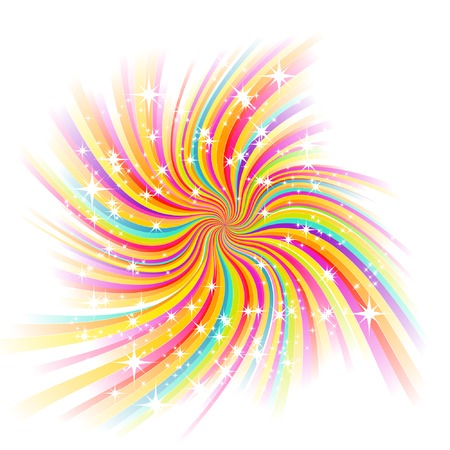 beautiful glow, vector abstract background