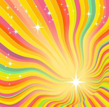 beautiful glow, vector abstract background Stock Vector - 5616509
