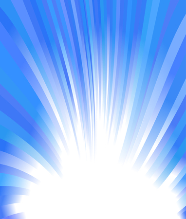cold winter glow, vector abstract background