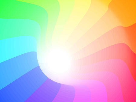 colorful 3ds lines, vector background with copy-space Vector