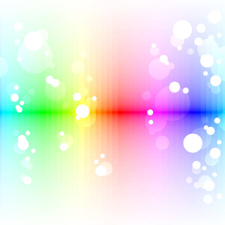colorful lines,  blur effect Vector