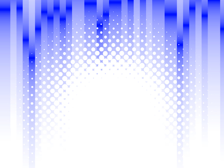 halftone lines, blur effect Stock Vector - 5691581