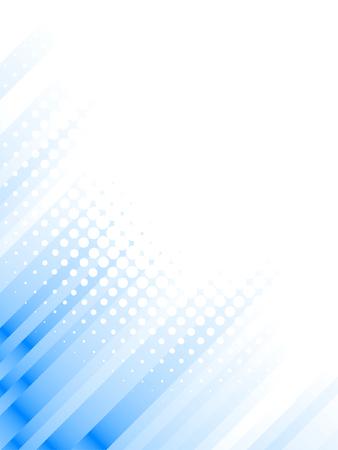 halftone lines, blur effect