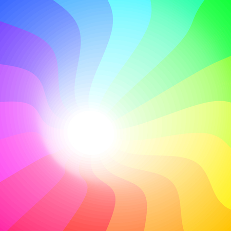colorful 3ds lines, background with copy-space Vector
